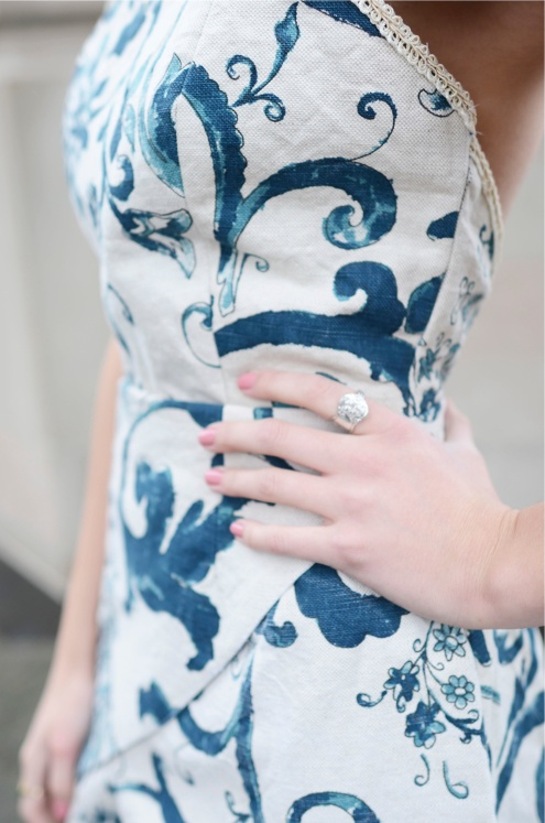 3-Tiered Dress Detail
